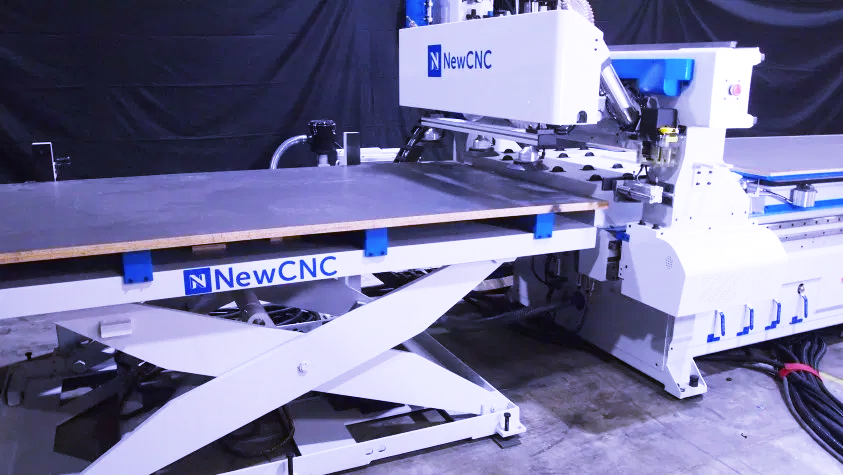 Automatic Load, Automatic Unload CNC Router Table