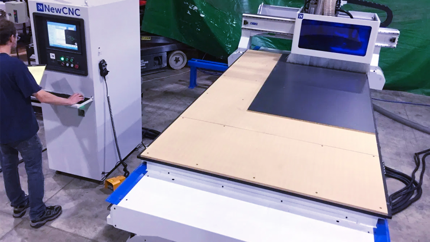 Full Product Line Up of CNC Machines, Saws and Edge Banding