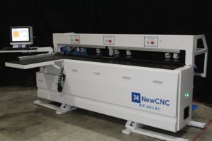 New CNC Horizontal Boring Machine Front View