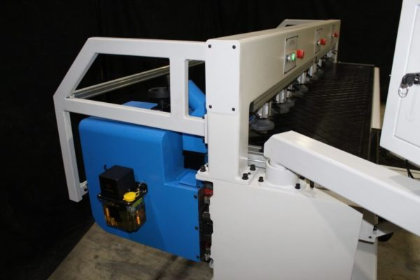Horizontal Boring Machine CNC Machined Side View