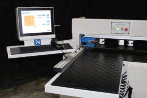 New CNC Horizontal Boring Machine Controls and Load Table