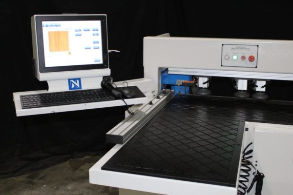 New CNC Horizontal Boring Machine Controls and Load Table