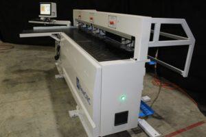 Horizontal Boring Machine Loading Table Side View