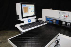 Horizontal Boring Machine Load Table and Controls
