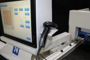 Horizontal Boring Machine Screen and Scanner