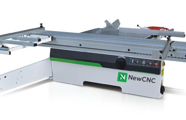 Sliding Panel Saw side view with optimized software control