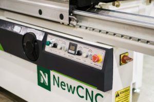 MJK1132F1 Sliding Panel Saw Controls