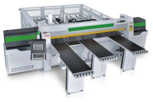 NPL330HG New Front Load Saw Corner View