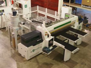 NPL330HG New Front Load Saw TopView