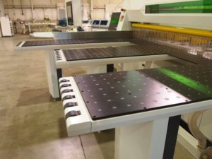 CNC Machine Load Unload Table