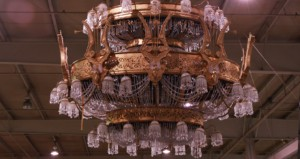 Chandelier made by a 6-axis CNC Machine