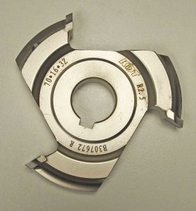Corner Rounding R2.5 Cutter 70 x 16 x 3Z B307673 R Right