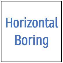 Horizontal Boring